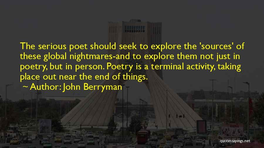 John Berryman Quotes 1717736