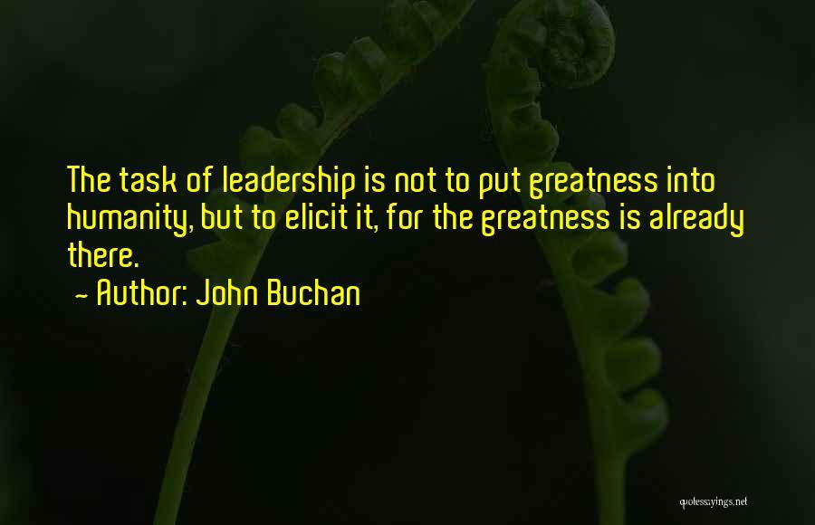 John Buchan Quotes 1276783