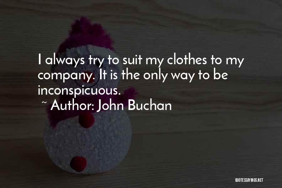 John Buchan Quotes 1543136