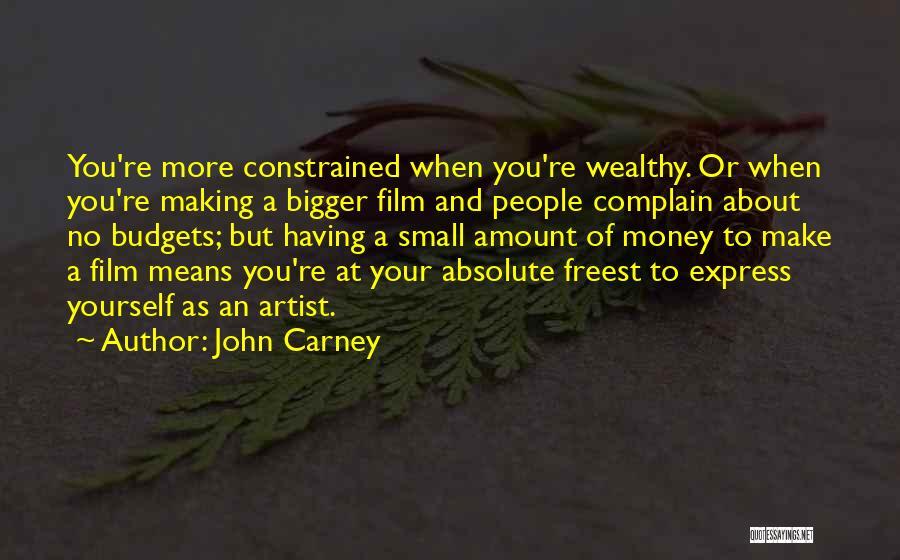 John Carney Quotes 2011824