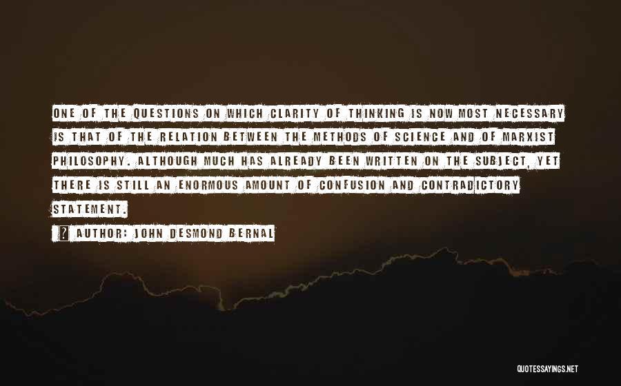 John Desmond Bernal Quotes 277689