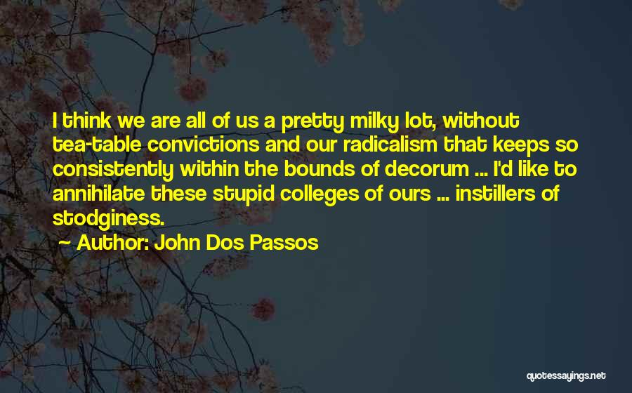 John Dos Passos Quotes 1431210