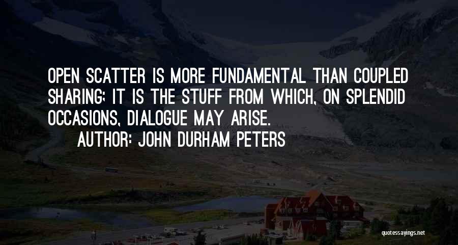 John Durham Peters Quotes 1381396