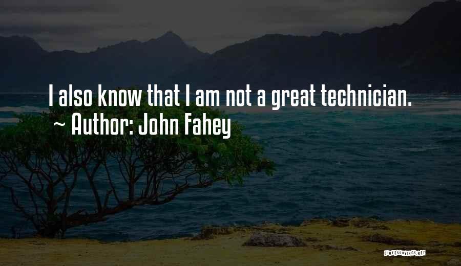 John Fahey Quotes 972658