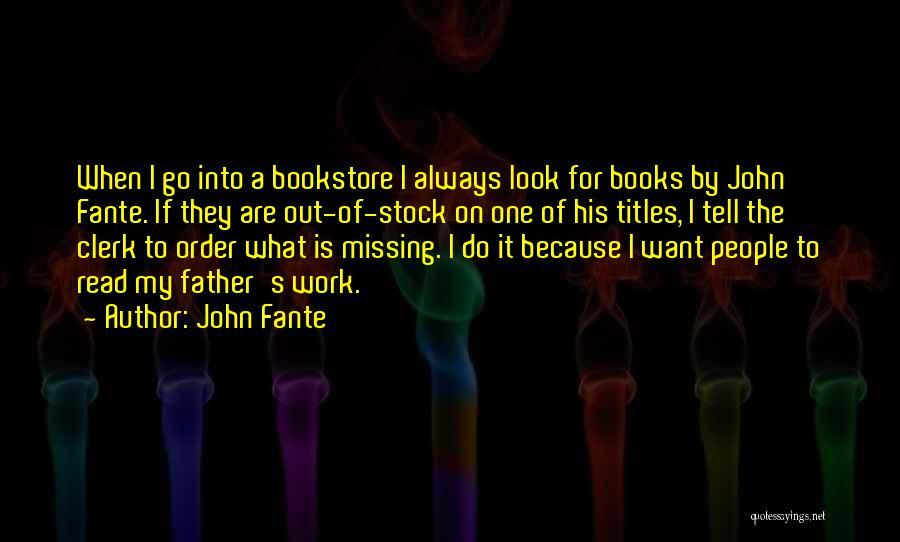 John Fante Quotes 1494619