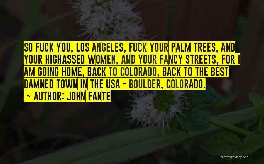 John Fante Quotes 1562207