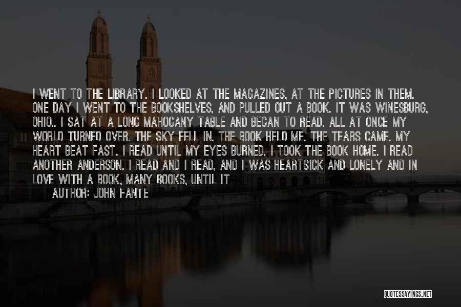 John Fante Quotes 1853982