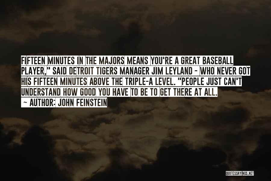 John Feinstein Quotes 1485855