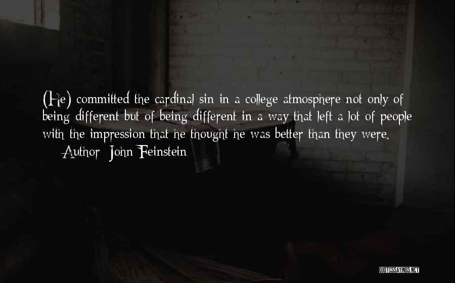John Feinstein Quotes 348065