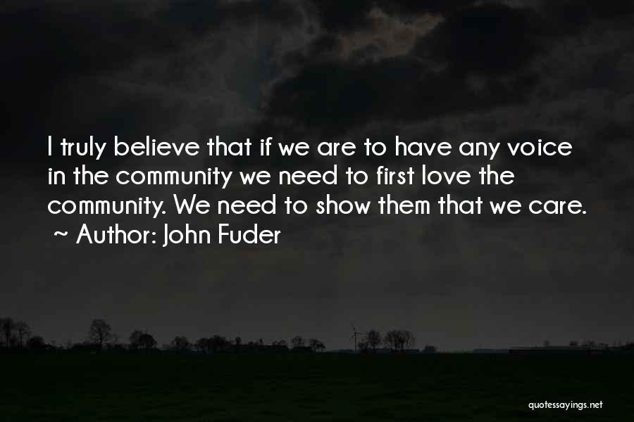 John Fuder Quotes 112946