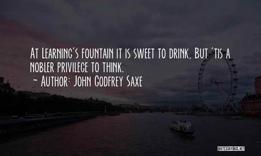 John Godfrey Saxe Quotes 1089287