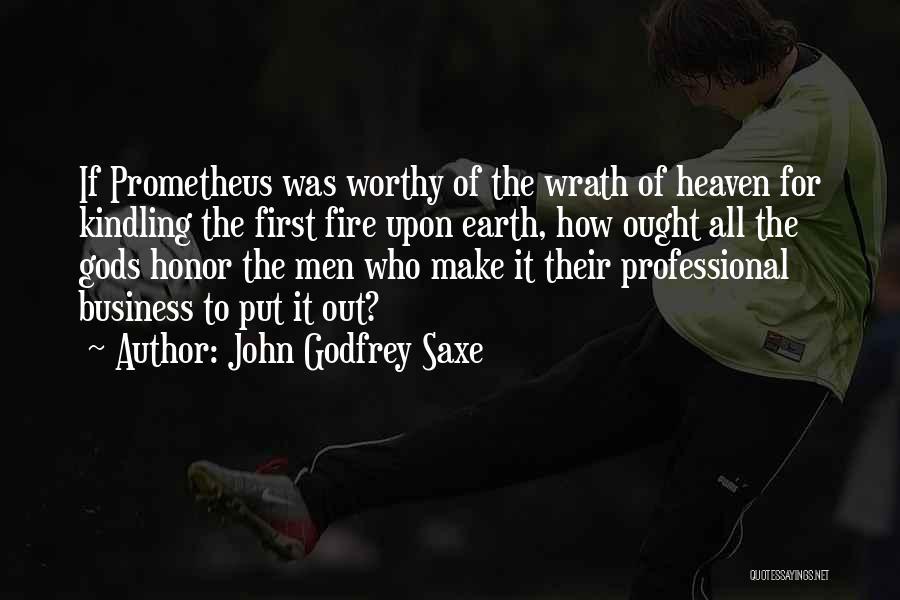 John Godfrey Saxe Quotes 1090001