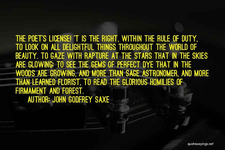 John Godfrey Saxe Quotes 272844