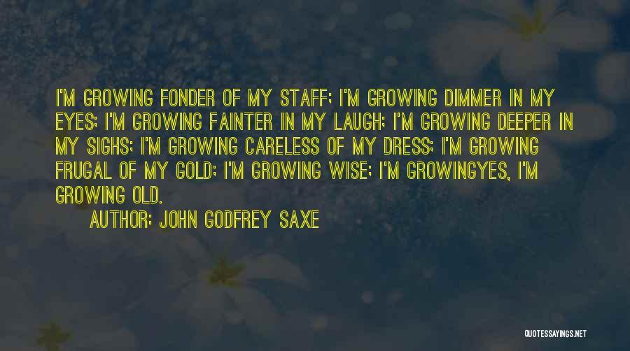 John Godfrey Saxe Quotes 590964