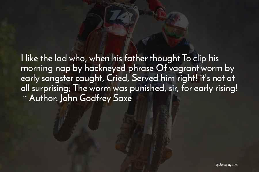 John Godfrey Saxe Quotes 625229