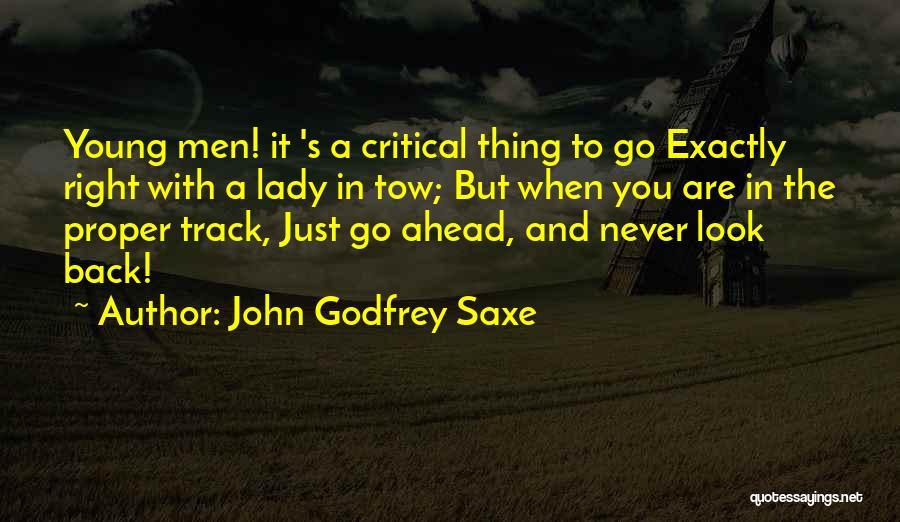 John Godfrey Saxe Quotes 912346