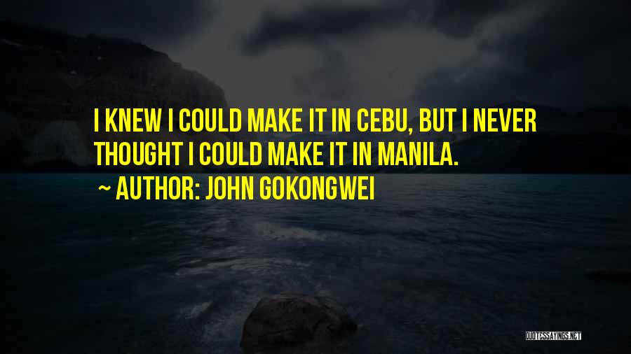 John Gokongwei Quotes 1908691