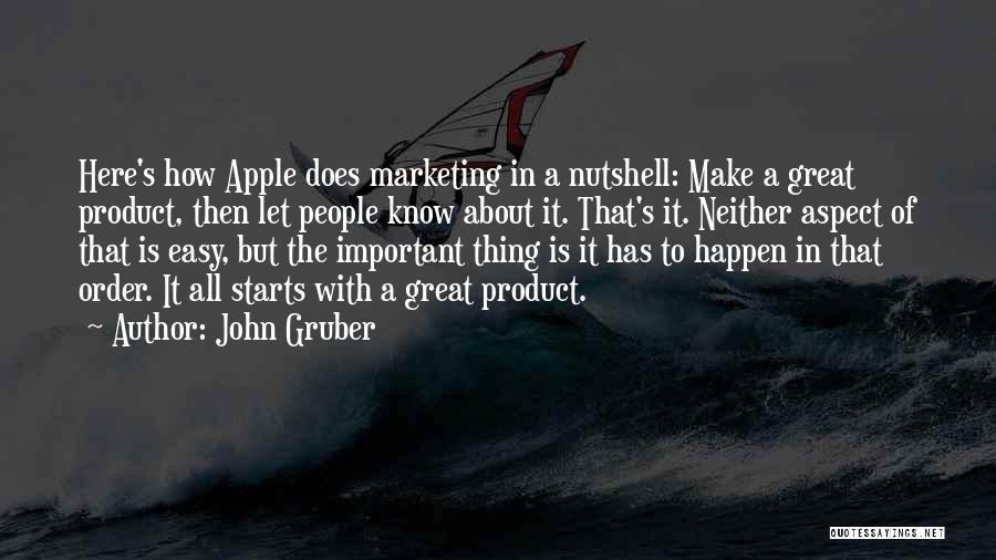 John Gruber Quotes 1674239