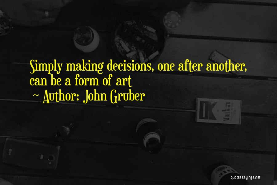 John Gruber Quotes 918292