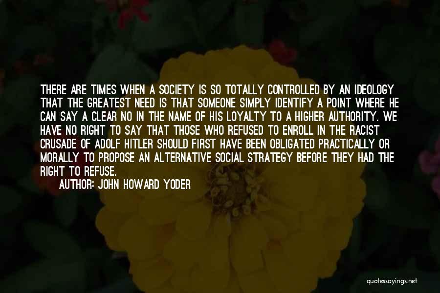 John Howard Yoder Quotes 1777755