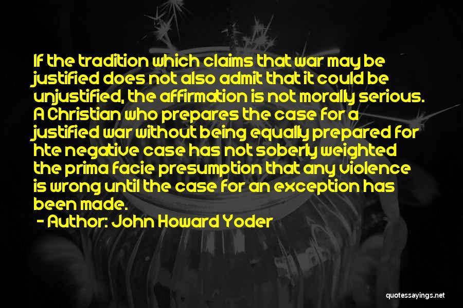 John Howard Yoder Quotes 499778