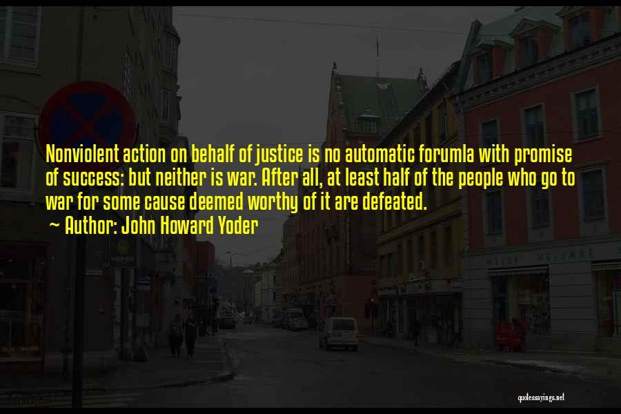 John Howard Yoder Quotes 686380