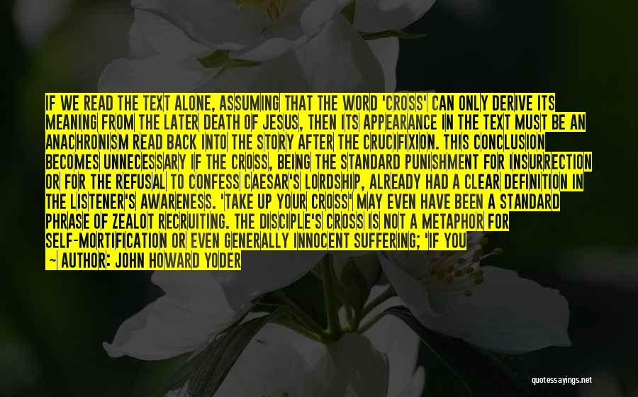 John Howard Yoder Quotes 935674