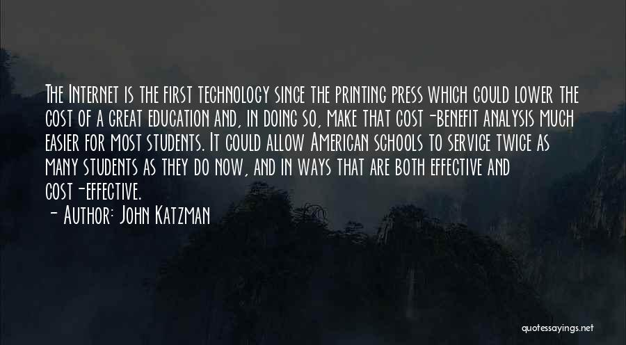 John Katzman Quotes 613187