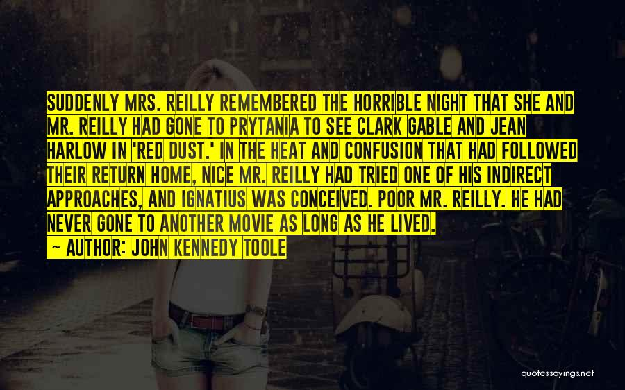 John Kennedy Toole Quotes 1617256