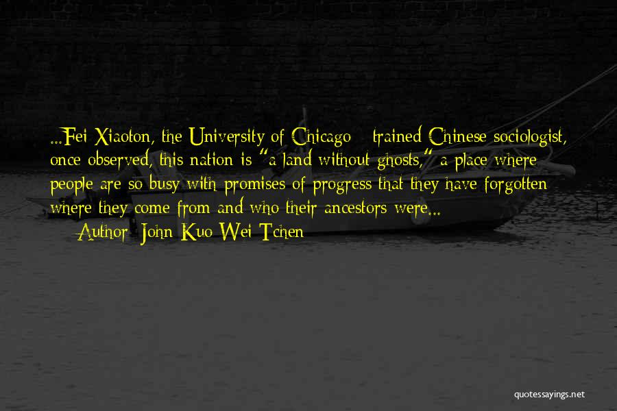 John Kuo Wei Tchen Quotes 1378189