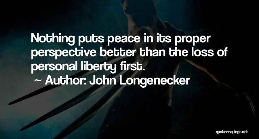 John Longenecker Quotes 1793346