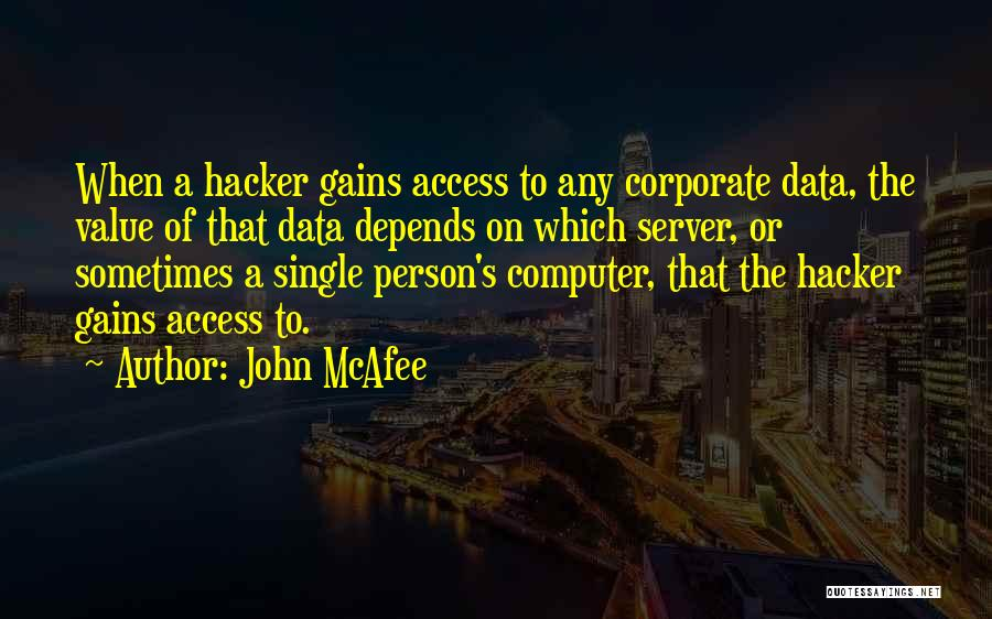 John McAfee Quotes 1383870