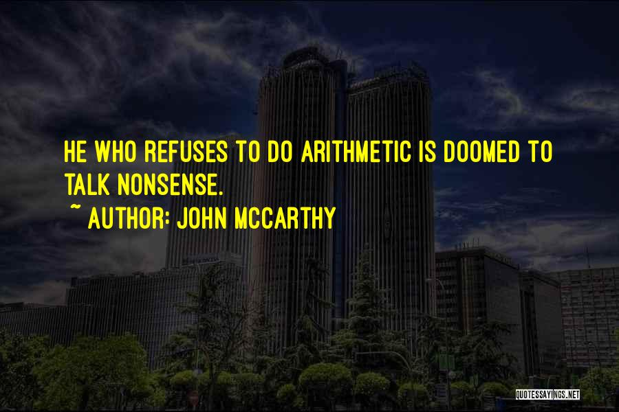 John McCarthy Quotes 1384307