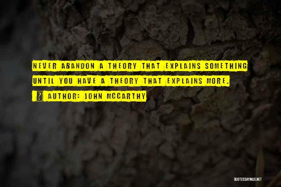John McCarthy Quotes 1800585