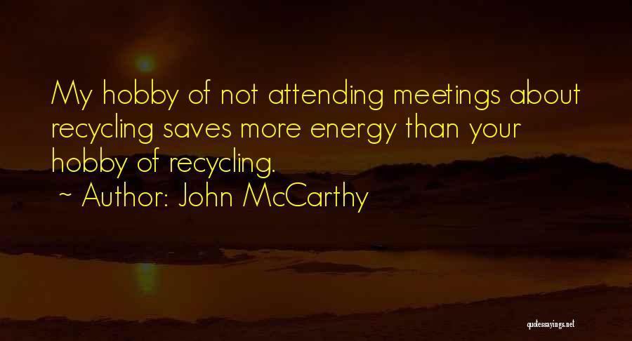 John McCarthy Quotes 695509