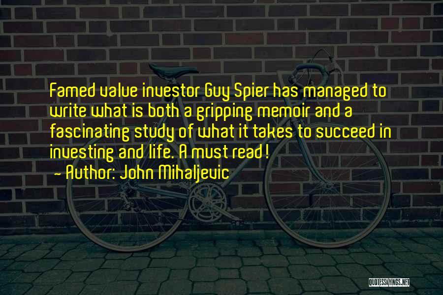 John Mihaljevic Quotes 1246163