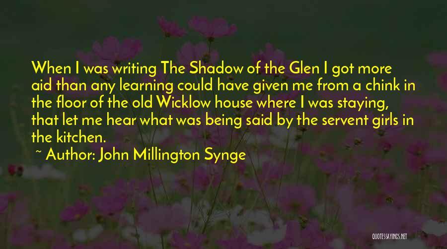 John Millington Synge Quotes 994043
