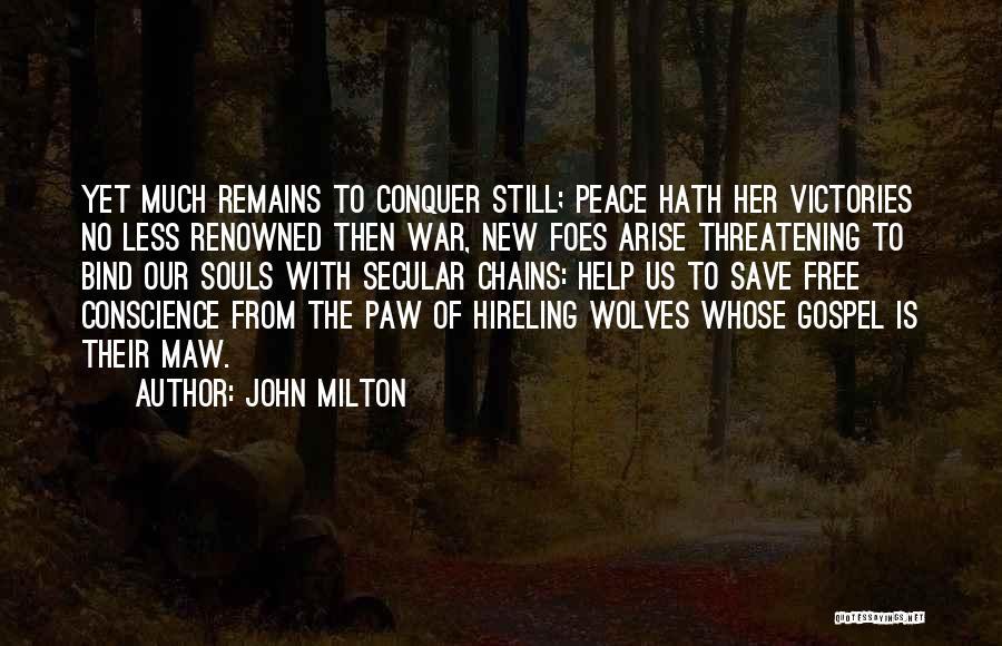 John Milton Quotes 1015261