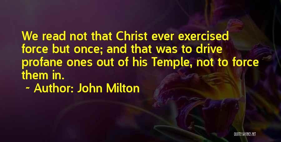 John Milton Quotes 1404784