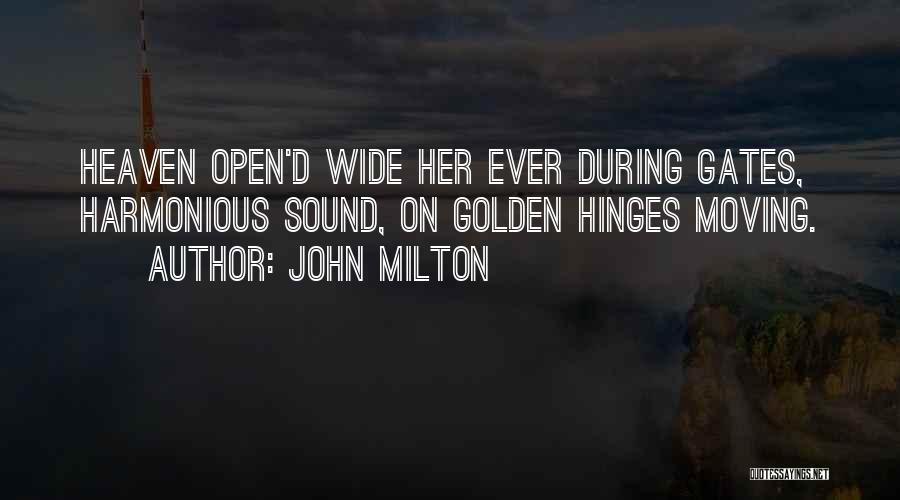 John Milton Quotes 1416389