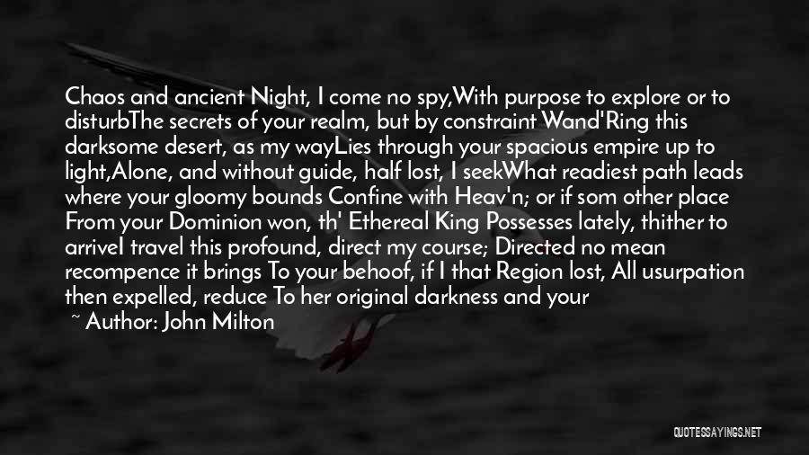 John Milton Quotes 1434181