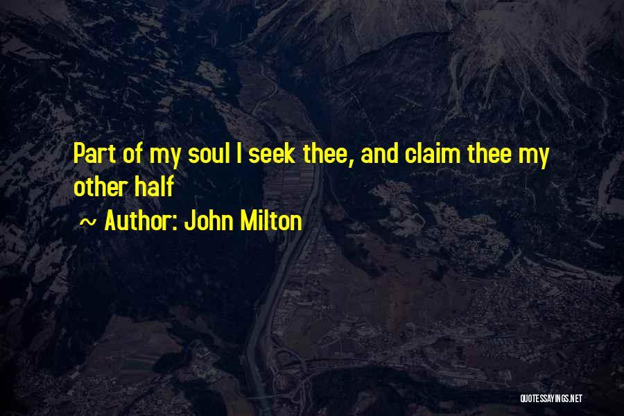John Milton Quotes 1583358