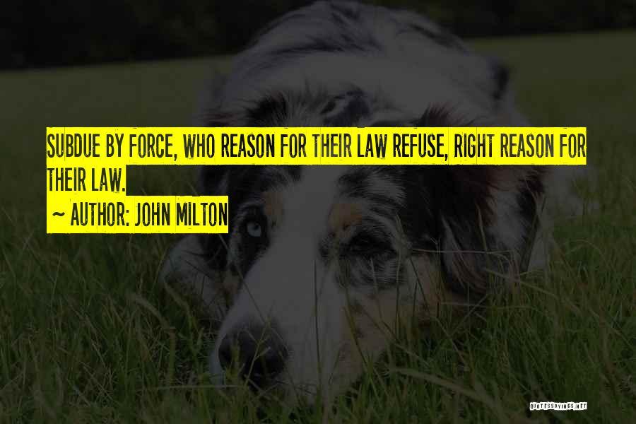John Milton Quotes 1623500