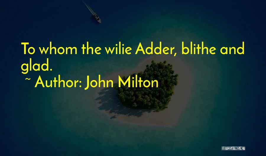 John Milton Quotes 1953932