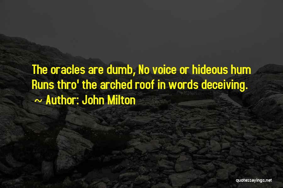 John Milton Quotes 314198