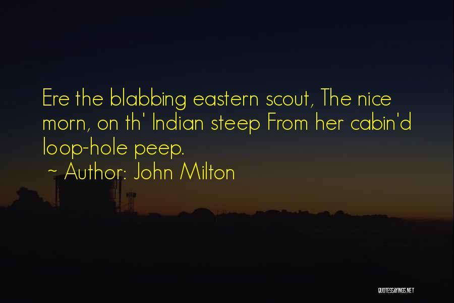 John Milton Quotes 389600