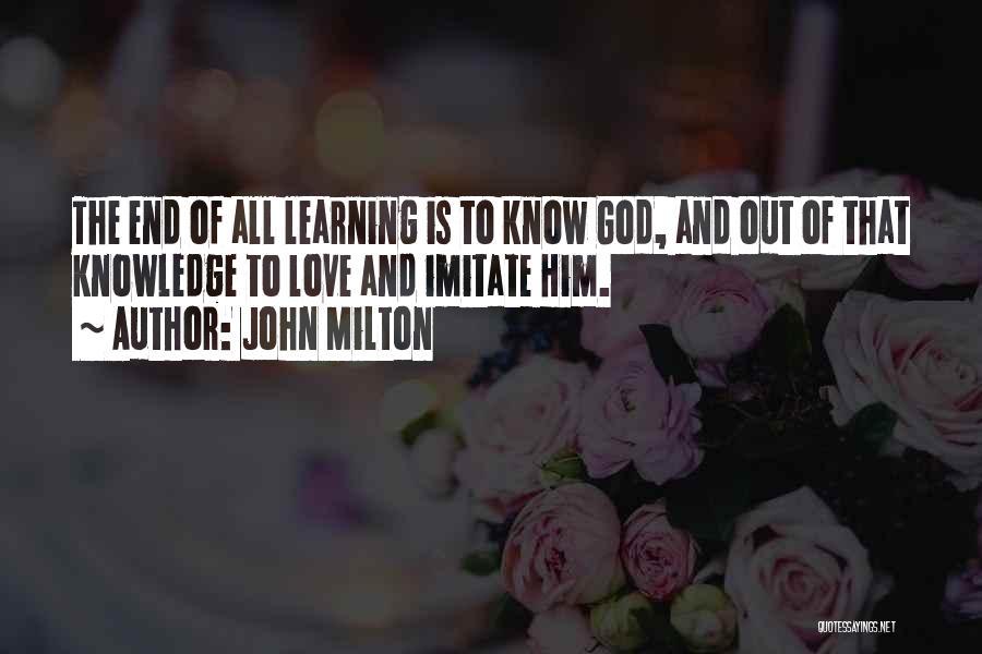 John Milton Quotes 498095