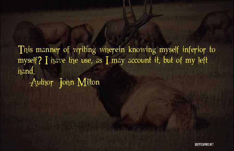 John Milton Quotes 730754