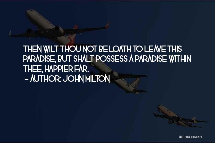 John Milton Quotes 934023