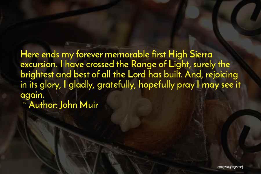 John Muir High Sierra Quotes By John Muir